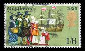 Mayflower Pilgrims — Stock Photo