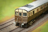 Model train carriage — Stock Photo