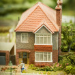 Detached house — Stock Photo