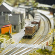 Model railway station — Stock Photo #13850160