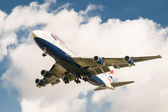 British Airways Boeing 747 — Stock Photo