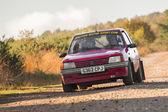Peugeot 205 ralli arabası — Stok fotoğraf