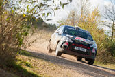Citroen DS3 rally car — ストック写真