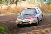 Coche de rally civic de honda — Foto de Stock