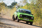Coche de rally ford — Foto de Stock