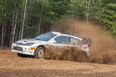Ford Focus Rally Car — Stock Photo