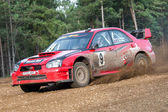 Subaru Impreza Rally Car — Stock Photo