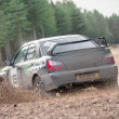 Subaru rally car - Stock Photo