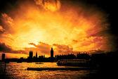 Großes feuer von london — Stockfoto
