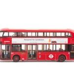 Hybrid London Bus — Stock Photo