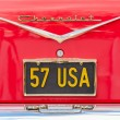 Chevrolet Licence Plate - Stock Photo