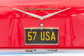 Chevrolet Licence Plate — Stock Photo
