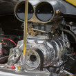 Dragster engine - Stock Photo