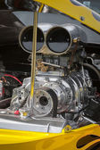 Dragster engine — Stock Photo