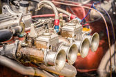Vintage carburetor — Stock Photo
