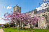 английский приходская церковь — Стоковое фото