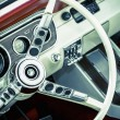Muscle car interior — Stock Photo