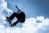 Skateboarden — Stockfoto
