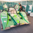 Stock Photo: Drayson Le Mans electric vehicle