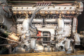 Vintage vehicle engine — Stock Photo