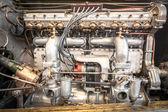 老式的车辆引擎 — 图库照片