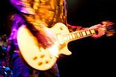 Guitarrista de rock glam — Foto Stock