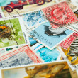 Stamp collection — Stock Photo #4704608