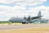 C-130J landing — Stok fotoğraf