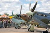 Battle of Britain aircraft — Stock Photo