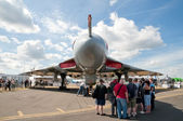 Vulcan bomber — Stock Photo