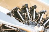 винтаж винт двигателя — Стоковое фото