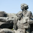 WW2 memorial in Kiev - Stock Photo