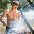 Summer Barbeque - Stockfoto