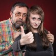 Father and daughter - Stockfoto