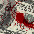 Blood Money - Stockfoto