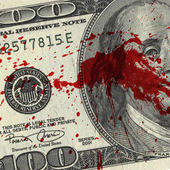 Blood Money — Stock Photo