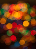 Bokeh background of Christmas light — Stock Photo