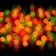 Bokeh background of Christmas light — Photo