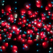 Abstract Christmas light background — Stockfoto