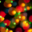 Abstract Christmas light background — Foto Stock