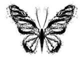 Abstract butterfly — Foto de Stock