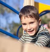 Cute boy on the playground — Stock Photo