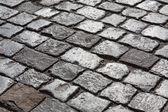 Cobble stone road — Stock Photo