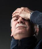 Ból głowy — Zdjęcie stockowe