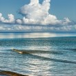 Sea, Clouds and Blue Sky — Stock Photo