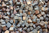 Stone square bricks — Stock Photo