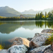 Mountain lake in High Tatra — Stock Photo #29526447