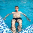 Sommer am Pool — Stockfoto