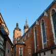 Historic houses in Krakow — Stock Photo #30407815