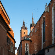 Historic houses in Krakow — Stock Photo #30407817